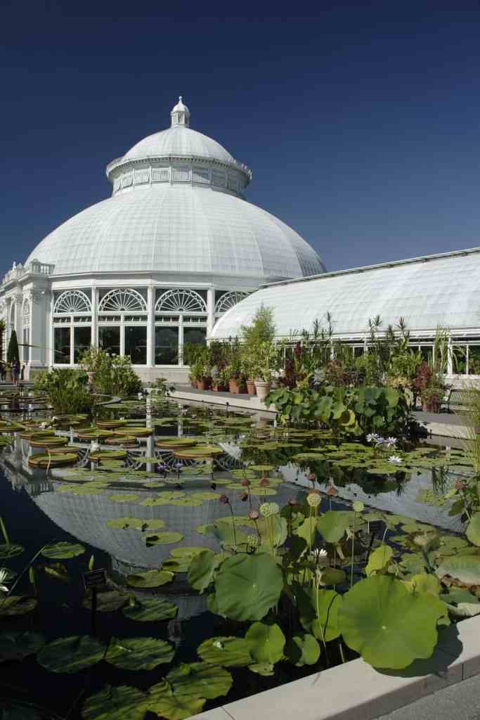 The historic beauty of the New York Botanical Gardens.
