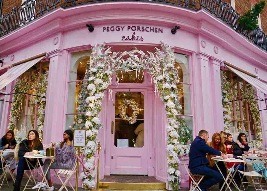 Disregard the queue at Peggy Porschen and you might get shanked. Kidding...sort of.