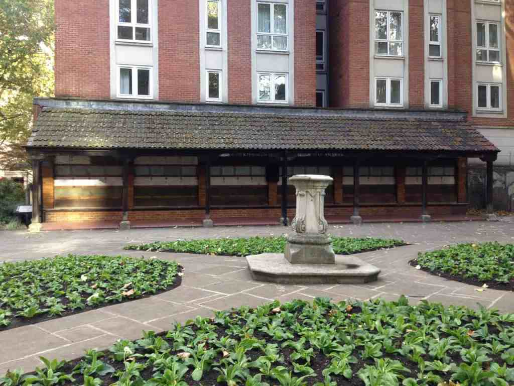 The quaint charm and beauty of Postman's Park in London.