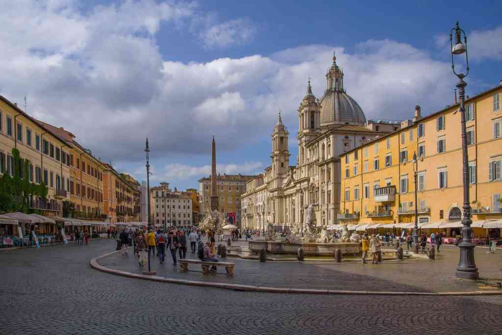 Definitely stop and enjoy the beauty fo Piazza Navona while in Rome.