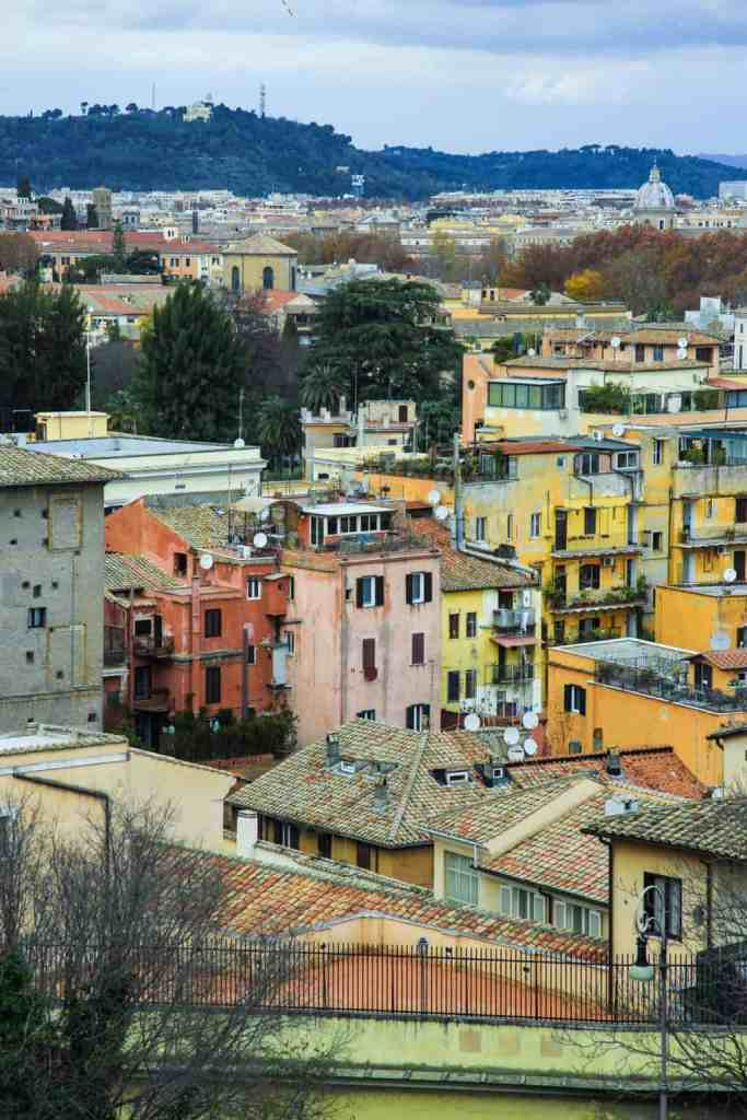 Throughout your 2 day Rome itinerary, make sure to take some time to stop and enjoy the beautiful views of Rome.