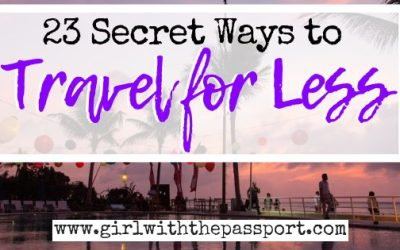 The Cheapest Way to Travel: 23 Ways to Travel for Less