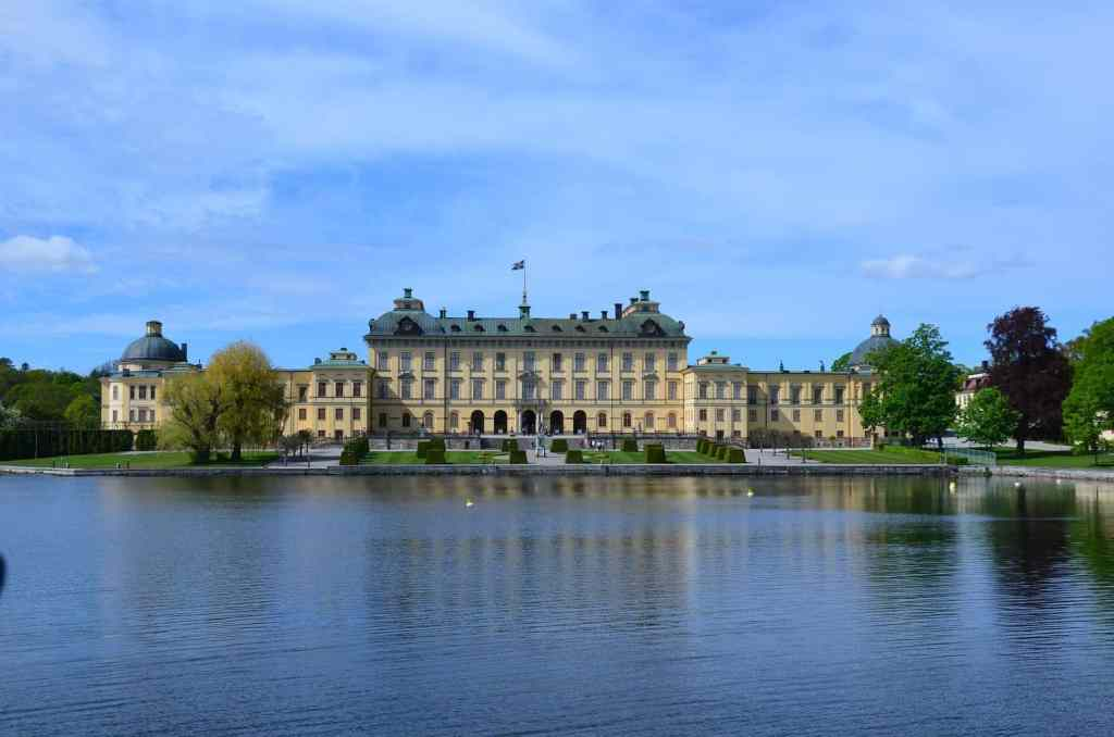 The majestic beauty of Drottningholm Palace.