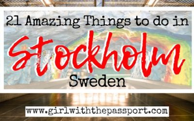 Stockholm Highlights: 21 Amazing Things to do in Stockholm Sweden