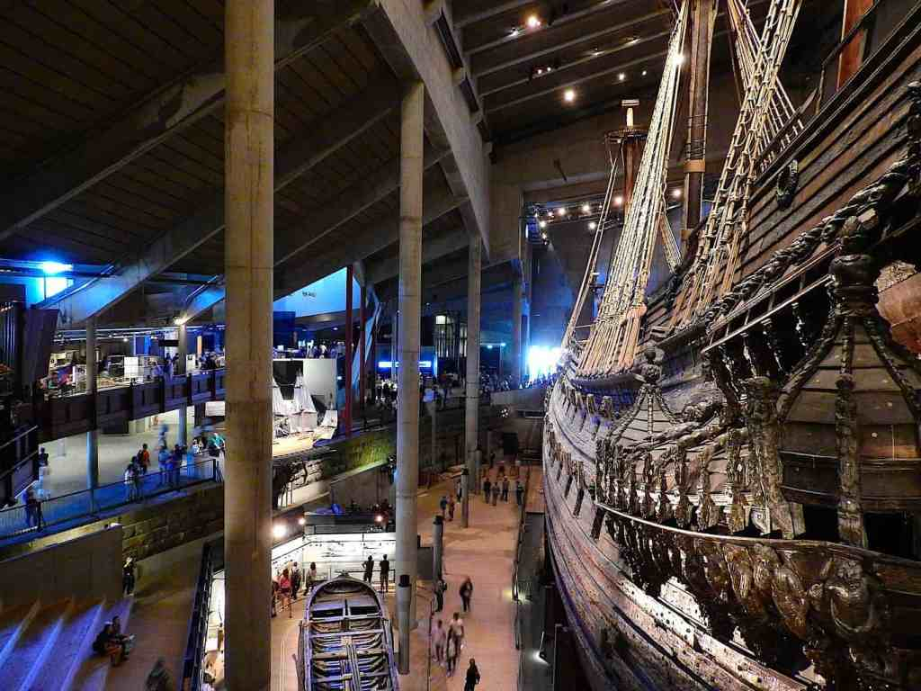 Visiting the Vasa Museum is just one of the many amazing things to do in Stockholm, Sweden.