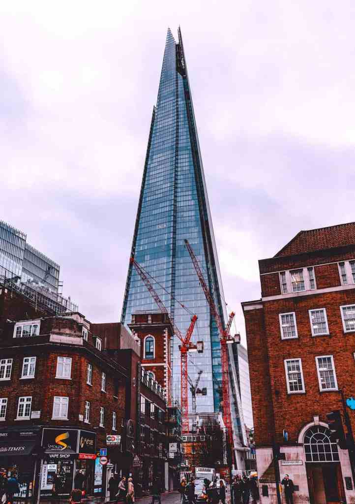 The shard is definitely one of the most beautiful and Instagrammable places in all of London.