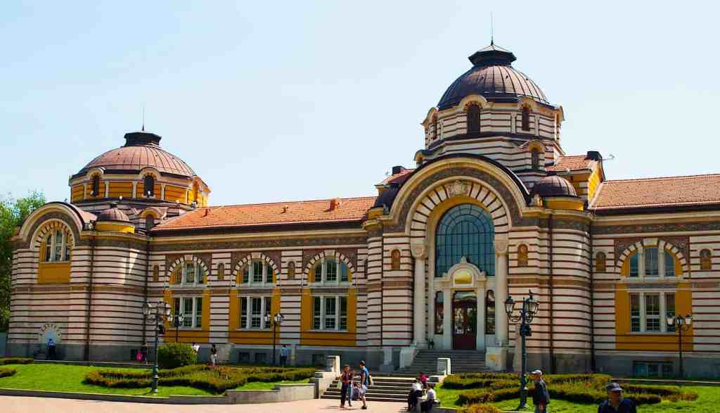 Sofia's beautiful Regional History Museum.