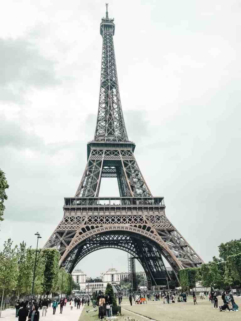 The iconic beauty of the Eiffel Tower is a must see during your 4 day Paris itinerary.