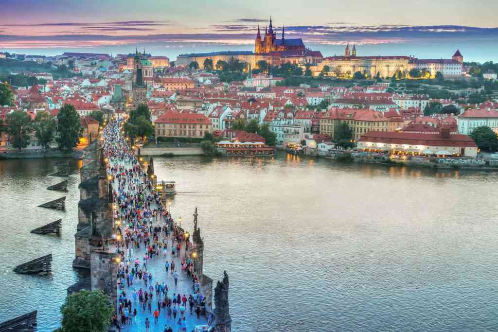 During your 3 days in Prague, be sure to take some time to stop and enjoy the scenic beauty of this magical city.