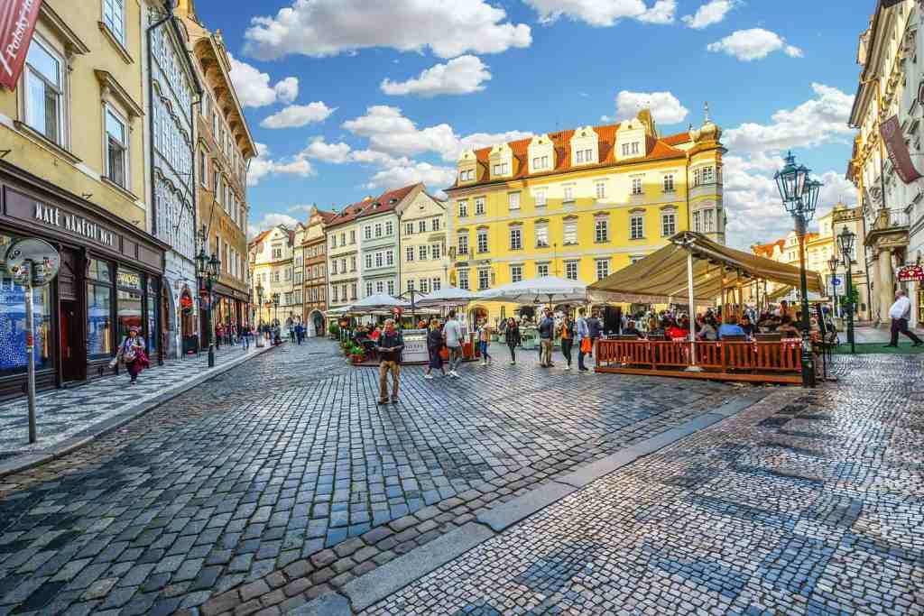 Old Town is an amazing place to visit. But I wouldn't suggest staying there during your 3 days in Prague.