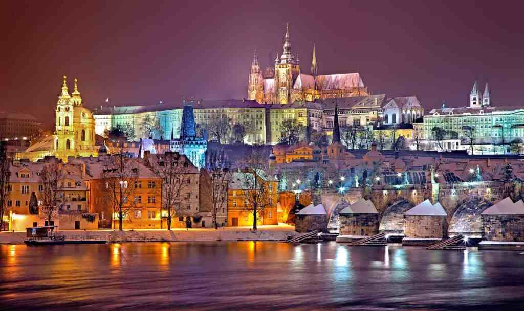Even throughout the austere winter, Prague retains its incredible beauty.