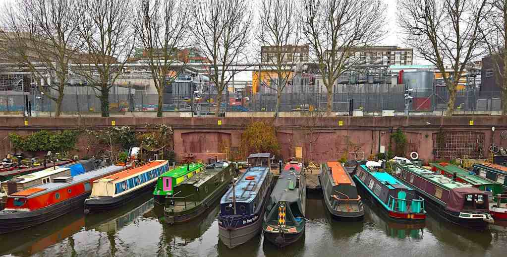 Definitely check out the incredibly beautiful houseboats that sit along Regents Canal in London.