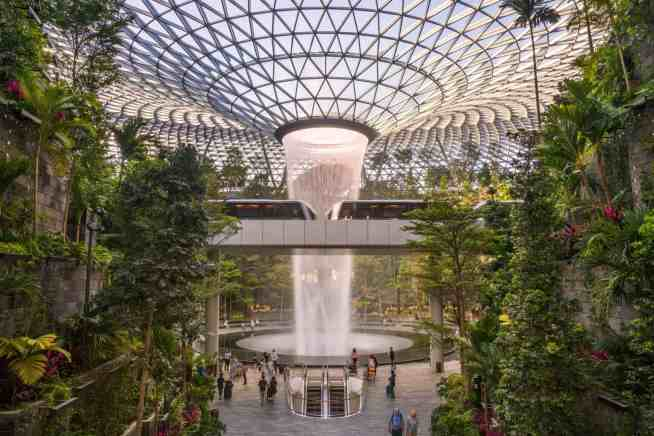 The ethereal beauty of Singapore's immortal, Changi Airport.