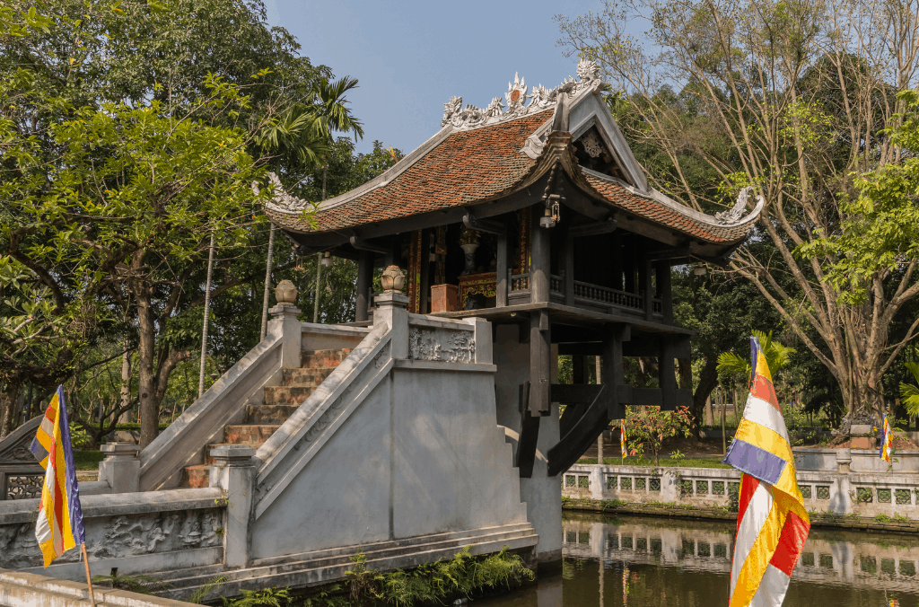 Hanoi's famous, One Pillar Pagoda is amazing to see and has a unique story behind it!