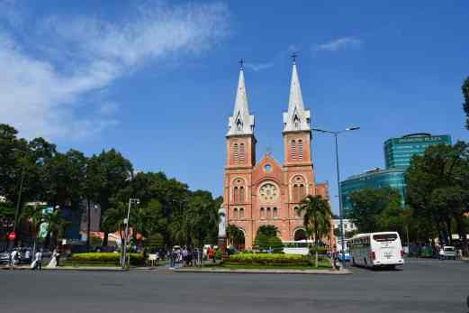 Not quite as magical as the one in Paris, but Ho Chi Minh's Notre Dame still has a charm about it.