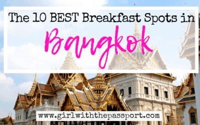 The 10 BEST spots for breakfast in Bangkok