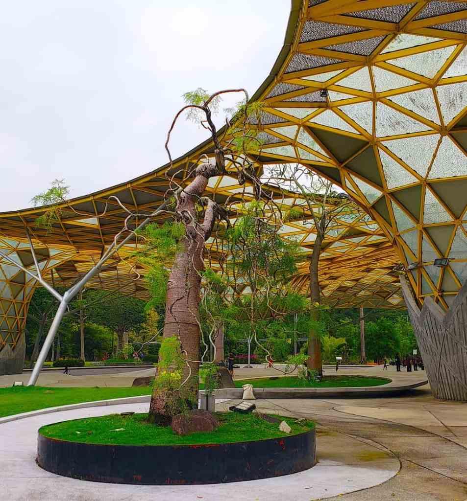 Be sure to take a nice, leisurely stroll through the lake gardens at KL's Tun Abdul Razak Heritage Park