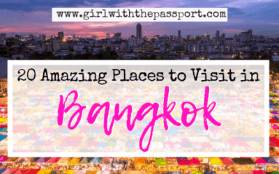 20 Amazing Places to go in Bangkok