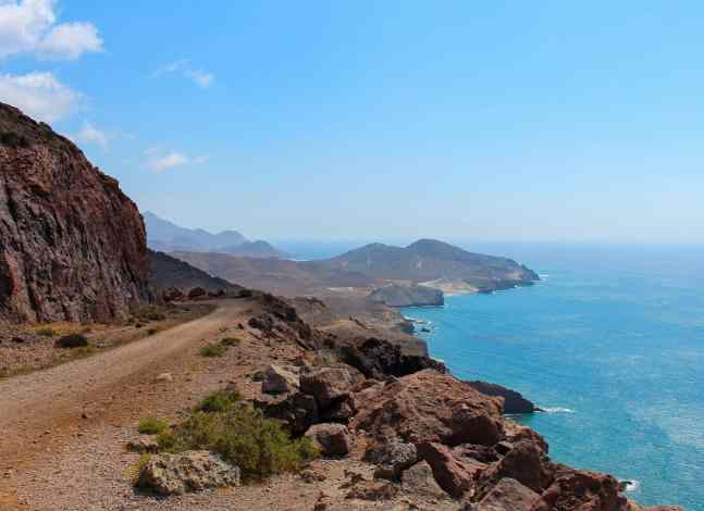 The vibrant, natural beauty of Cabo de Gata in Almeria, Spain.