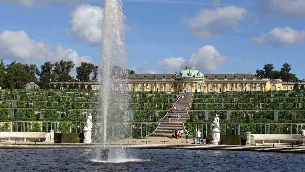The Baroque-style beauty the former royal palaces in Potsdam.