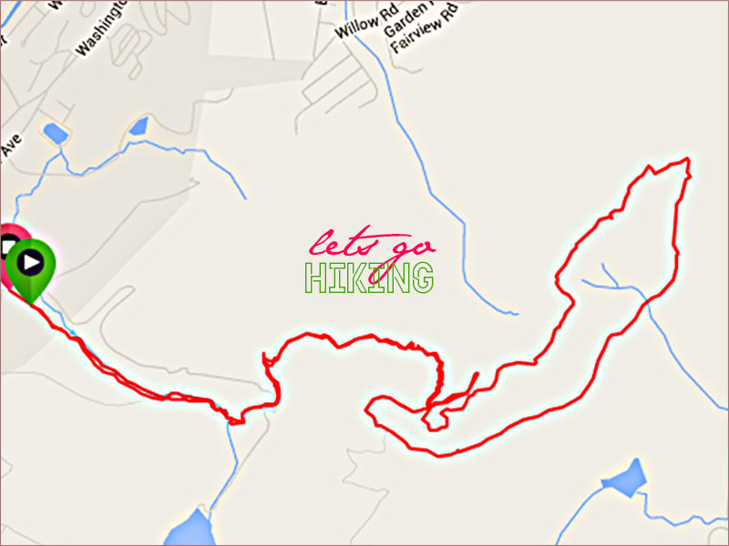 Hiking Map