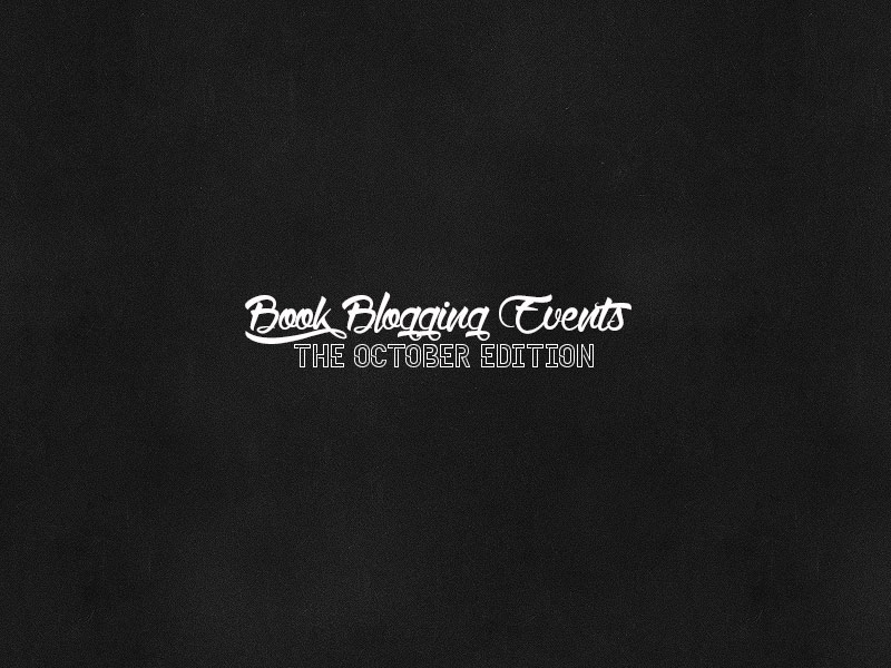 Book Blogging Events