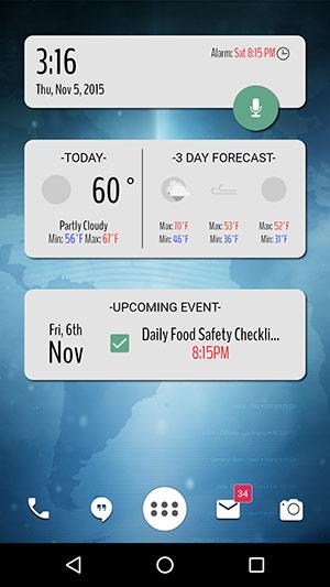 App Life Homescreen