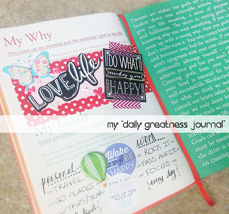 Daily Greatness Journal