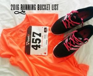 Running Bucket List