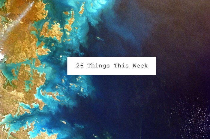 26 Things This Week