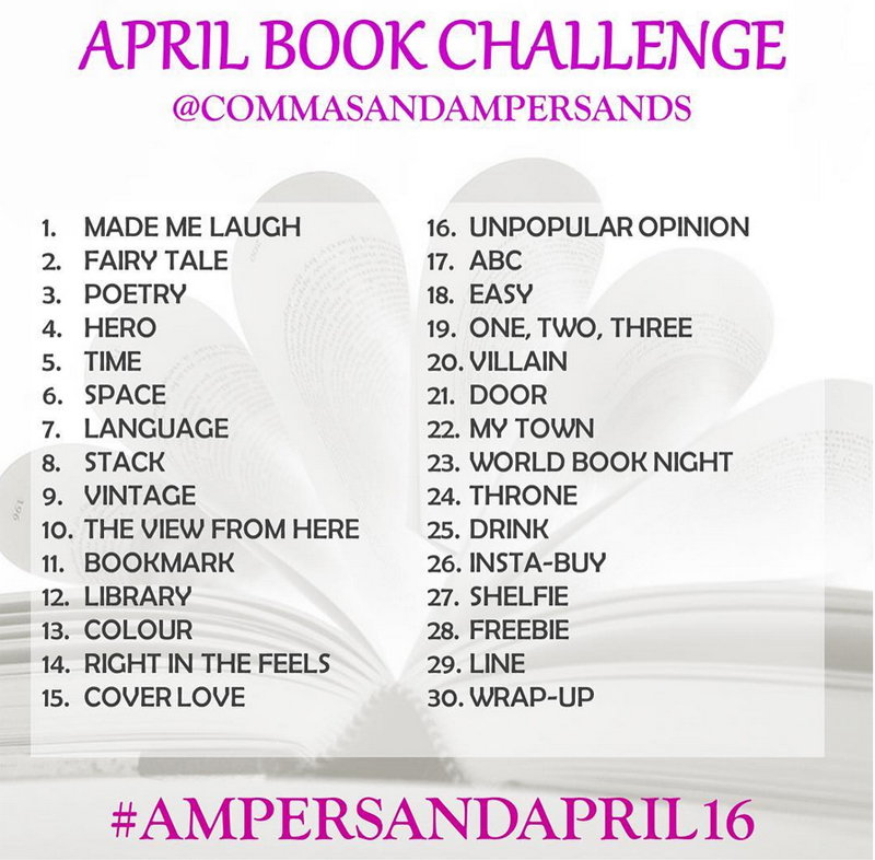 Ampersandapril bookstagram