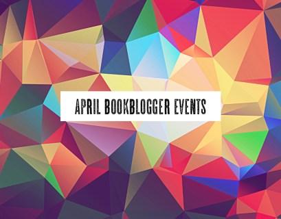 April Book Blogger Events
