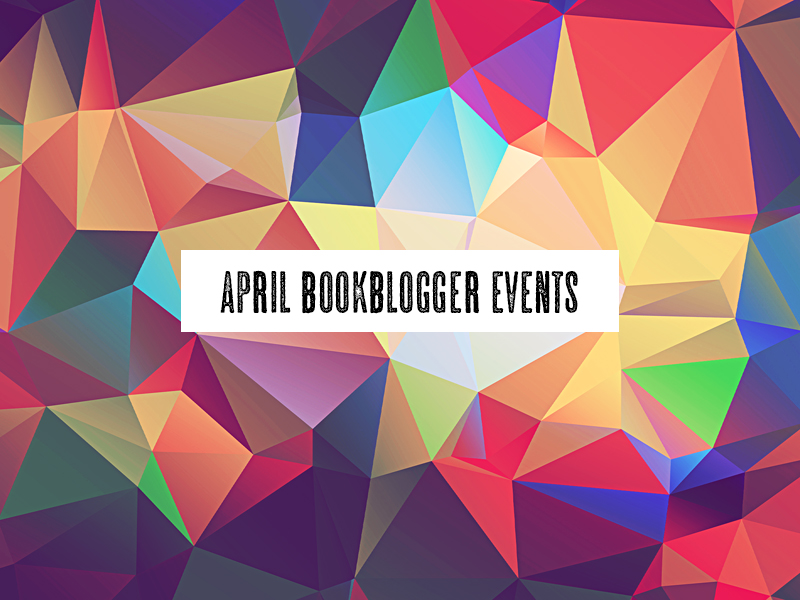 April Book Blogger Events