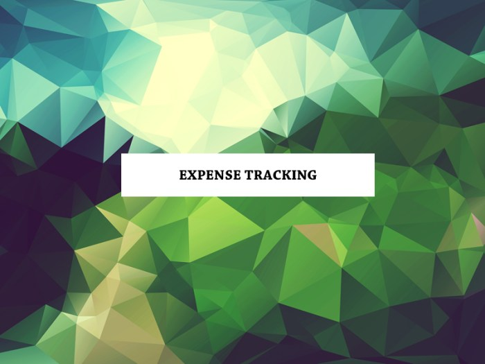 Expense Tracking