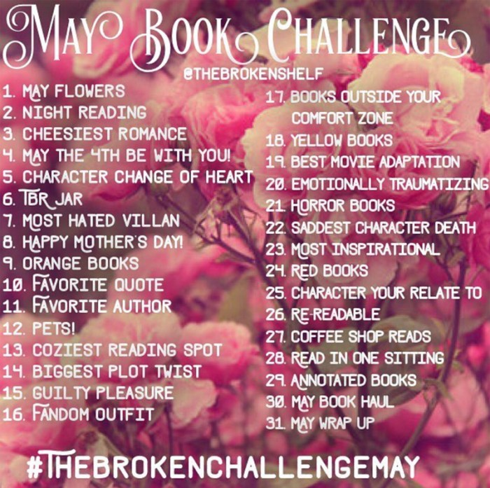 brokenchallengemay bookstagram