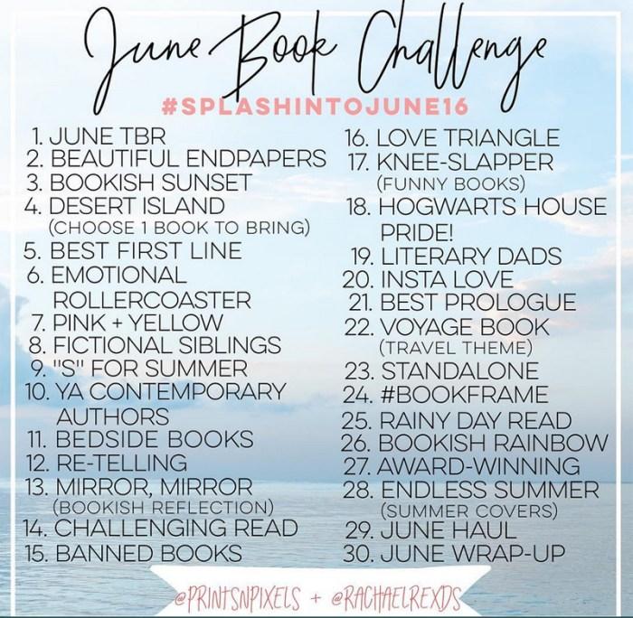 splashintojune16 bookstagram