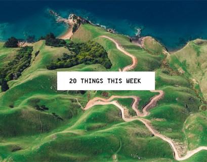 20 Things This Week