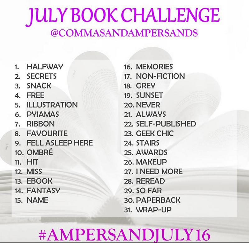 July Bookstagram Challenge