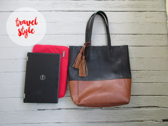Travel Style Tote