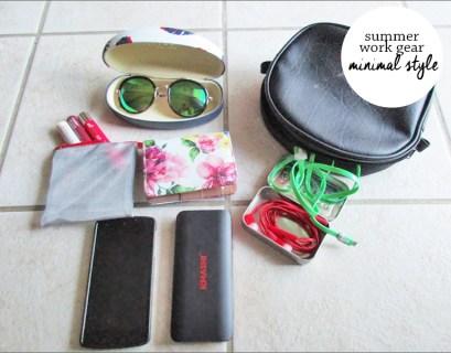 Summer Work Handbag Essentials