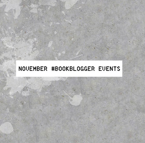 November book bloggerevents