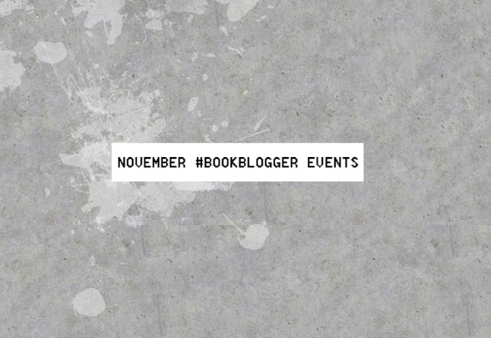 November book bloggerevents