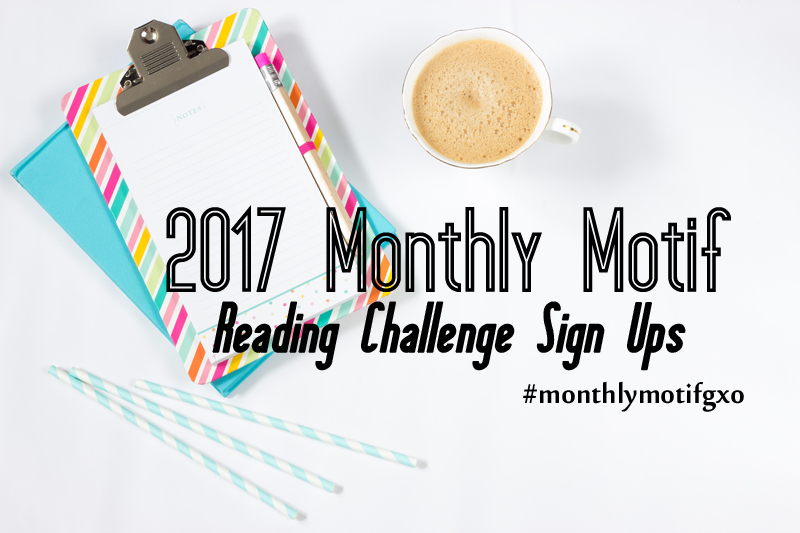 2017 Monthly Motif Reading Challenges