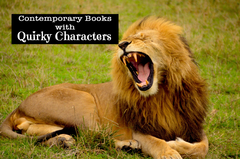 quirky characters in books