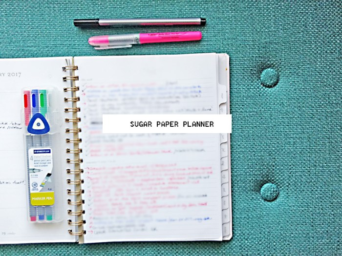 Sugar Paper Planner Bullet Journal