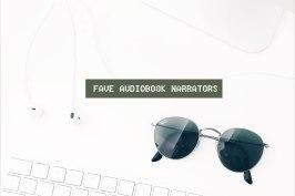 audiobook narrators