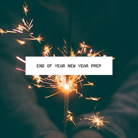 New Years Goals Prep