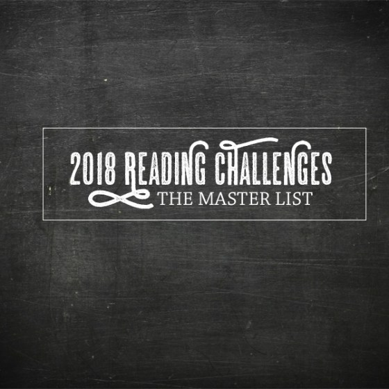 Master List of 2018 Reading Challenges