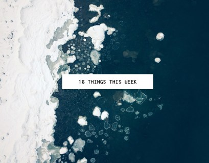 16 Weekly Links