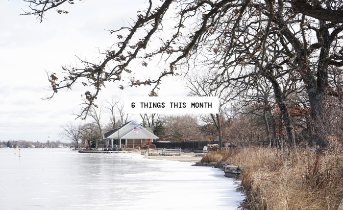 6 Things This Month